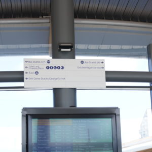 Directory System Sign